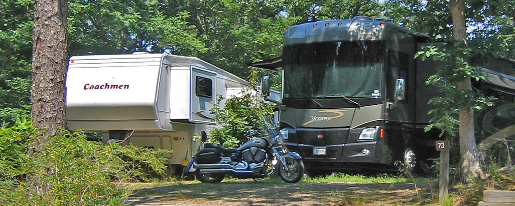 Rv at Shady Knoll Campground