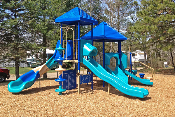 Shady Knoll Campground Playground