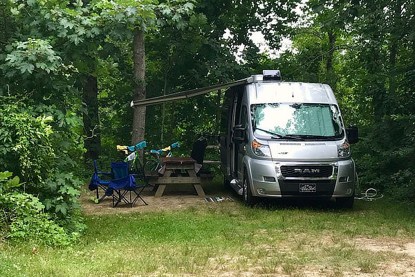 Shady Knoll Campground Pop up site